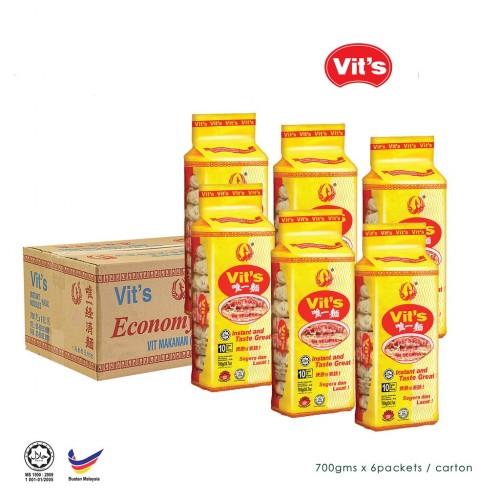 Vit's Instant Noodle 唯一快熟面 6pkt/ctn