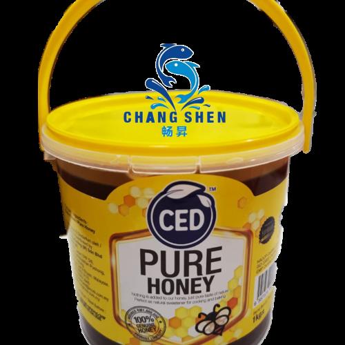 CED PURE HONEY 1KG +/- PER TUB
