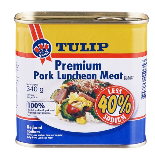 Tulip Premium Pork Luncheon Meat 340gm/tin