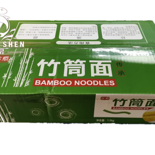 BAMBOO NOODLE 竹筒面 1.5KG/CTN
