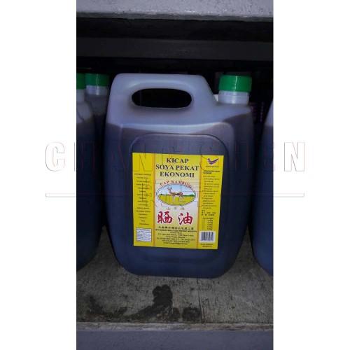 WTH Dark Soya Sauce   5 L/btl