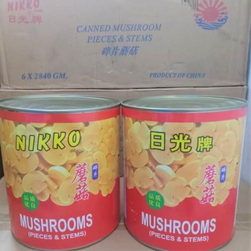 Golden Chef Button Mushroom Slice | 2.8 kg/can