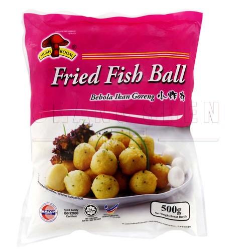 M Fried Small Fish Ball 小炸丸| 50 pcs | 500 gm/pkt