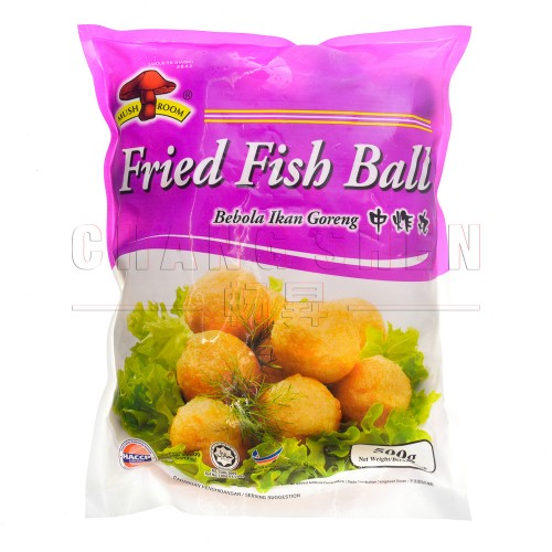 M Fried Medium Fish Ball 中炸丸 | 25 pcs | 500 gm/pkt