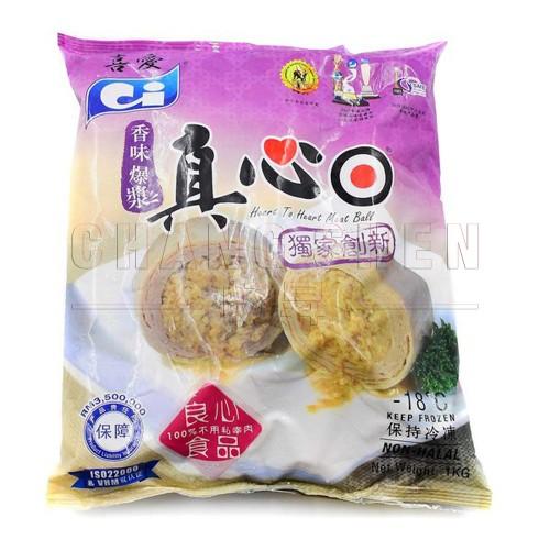 Ci Heart Meat Ball   1 kg/pkt