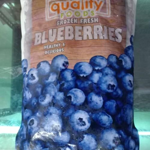 Frozen Fresh Blueberries 500GM/PKT