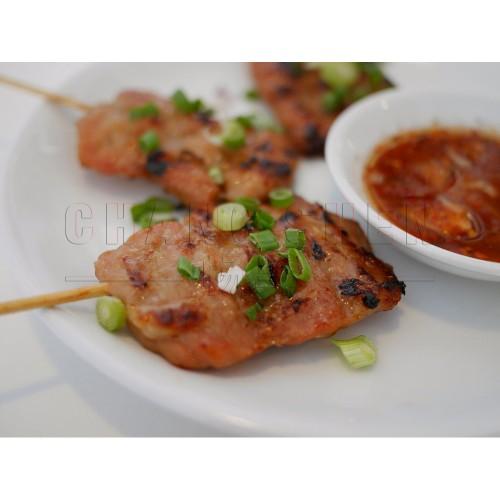 Thai Pork BBQ Satay | 10 strip/pkt