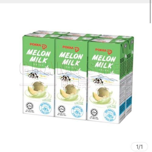 Pokka Melon Milk | 250 ml | 24 box/ctn