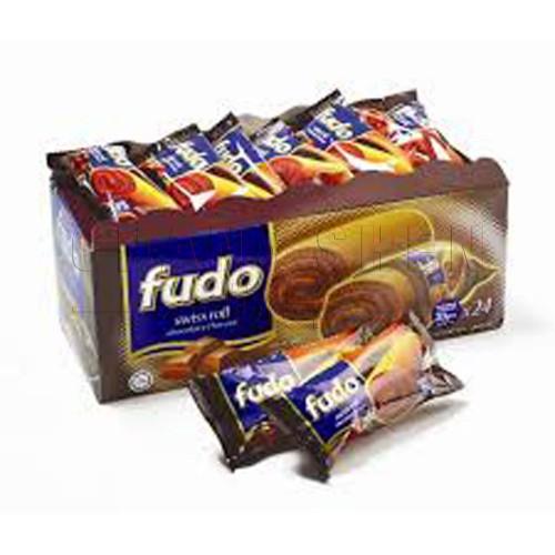 Fudo Swiss Roll Chocolate | 18 gm | 24 pcs/box