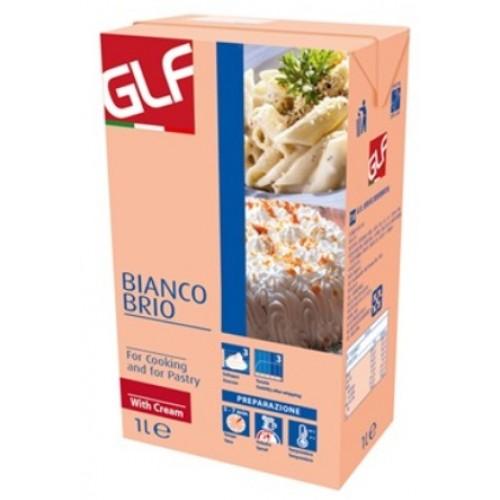 GLF Bianco Brio Whip Cream (Peach) 1L/PKT