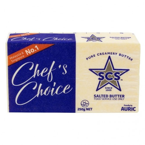 SCS Salted Butter 250gm/block