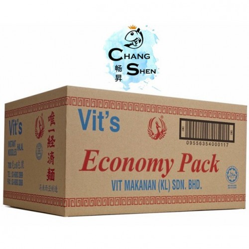 唯一面快速面一箱VIT'S INSTANT NOODLES 1 CARTOON (6 X10 CAKES)