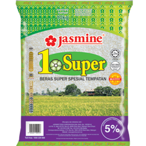 Jasmine   1 Super Rice   10 kg/pkt